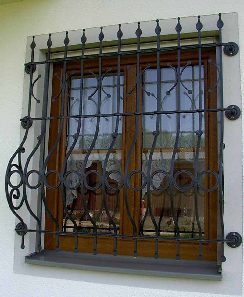 Window Railing Wrought Iron Producer Ersoy Metal